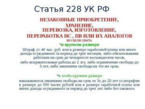 Поправки В Ук Рф В 2020 По Ст 228 Ч3