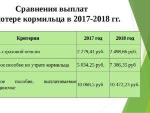 Льготы По Потере Кормильца В Московской Области В 2020 Году