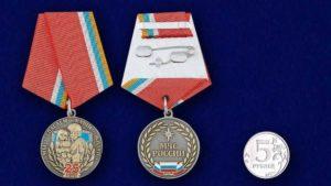 Медаль 25 Лет Мчс России И Ветеран Труда