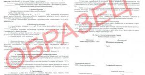 Договор на изготовление товара под брендом