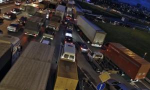 Движение грузовиков по ттк 2020