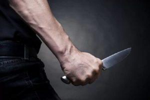 Нападение на человека с ножом статья ук рф