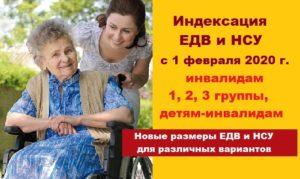 Нсу для инвалидов в 2020 году