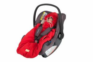 Автолюлька для новорожденных для зимы