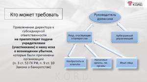 Практика по долгам ооо и ответственности директора