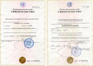 Свидетельство о гос регистрации и инн разница