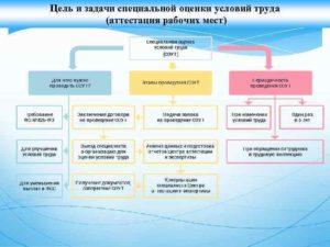 Цели и задачи проведения специальной оценки рабочих мест по условиям труда