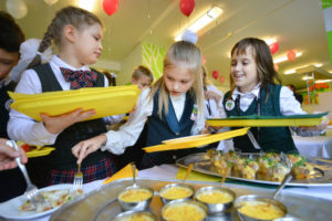 Школьные обеды в москве