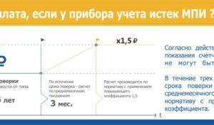 Срок Замены Приборов Учета Электроэнергии С Истекшим Межповерочным Интервалом