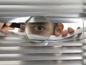 Незаконная слежка за человеком