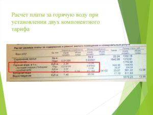 Рассчитываем стоимость горячей воды омск