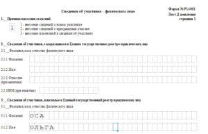 Форма p14001 нужно ли решение учредителей об уточнении адреса