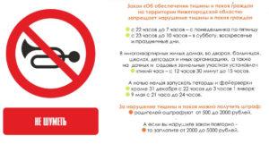 Закон О Тишине В Брянской Области 2020