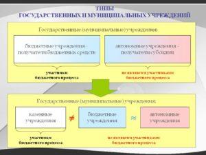 Муниципальное учреждение и муниципальное предприятие разница