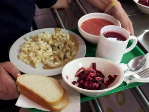 Сколько стоит комплексный обед в школе в москве